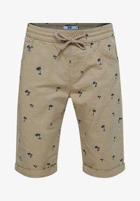 WE Fashion - Shorts - mottled olive - 0