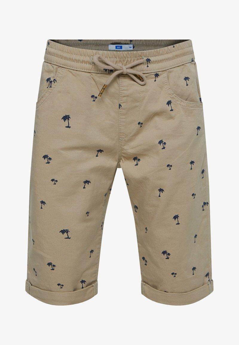 WE Fashion - Shorts - mottled olive