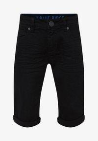 WE Fashion - Denim shorts - black - 0