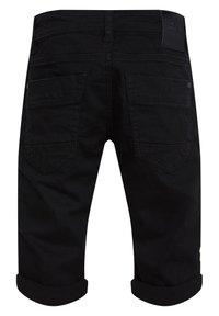 WE Fashion - Denim shorts - black - 1