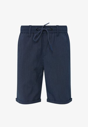 WE FASHION JONGENS SHORT MET KRIJTSTREEP - Shorts - dark blue