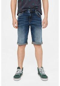 WE Fashion - WE FASHION JUNGEN-REGULAR-FIT-JEANSSHORTS - Shorts vaqueros - blue - 0