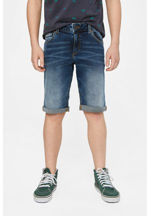 WE FASHION JUNGEN-REGULAR-FIT-JEANSSHORTS - Szorty jeansowe - blue