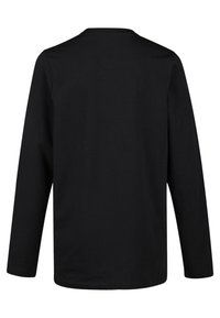 WE Fashion - REGULAR FIT - Long sleeved top - black - 1
