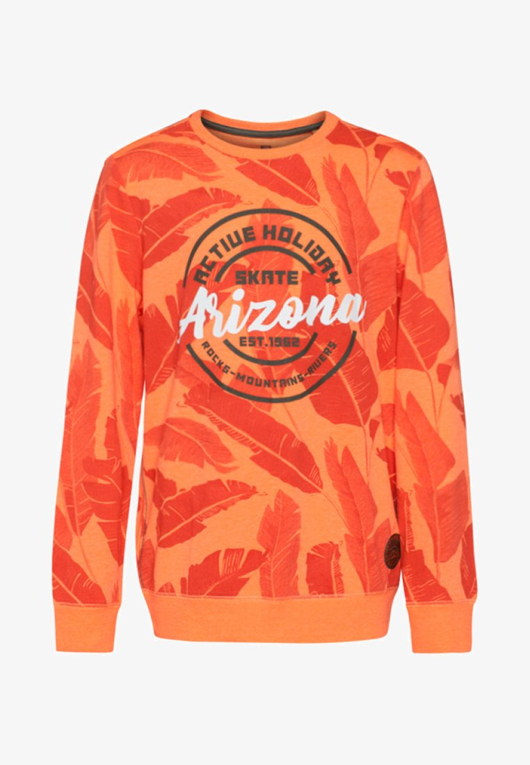 WE Fashion - Long sleeved top - bright orange