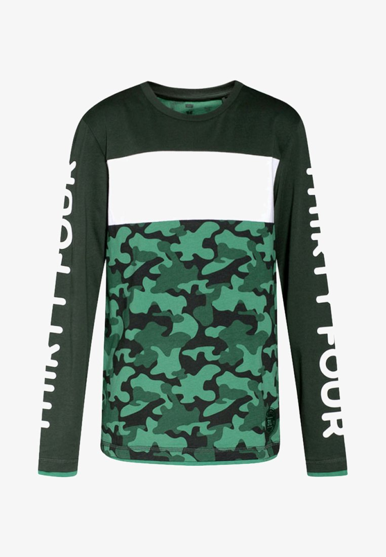 WE Fashion - REGULAR FIT - T-shirt à manches longues - army green