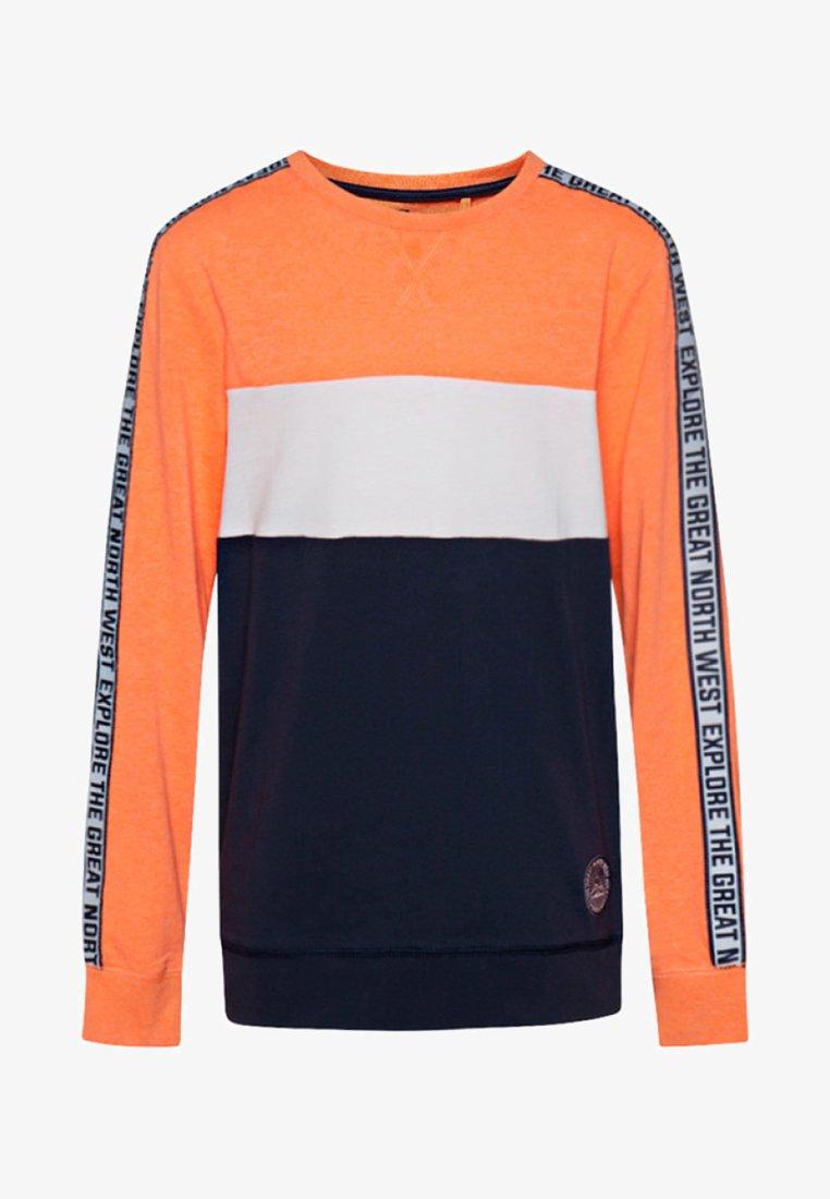 WE Fashion - JONGENS  - T-shirt à manches longues - bright orange