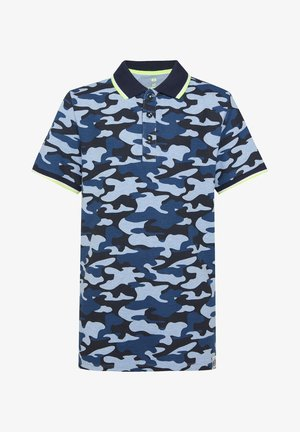 MET CAMOUFLAGEDESSIN - Polo - blue