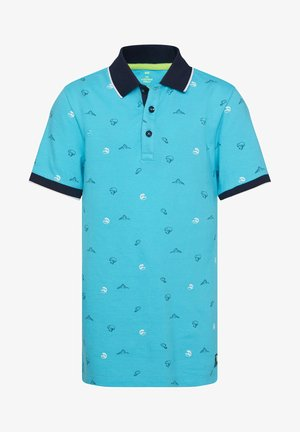 MIT MUSTER - Poloshirt - light blue