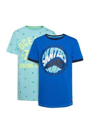 WE FASHION JONGENS 2-PACK T-SHIRT - T-shirt con stampa - multi-coloured