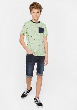 Print T-shirt - green\ blue