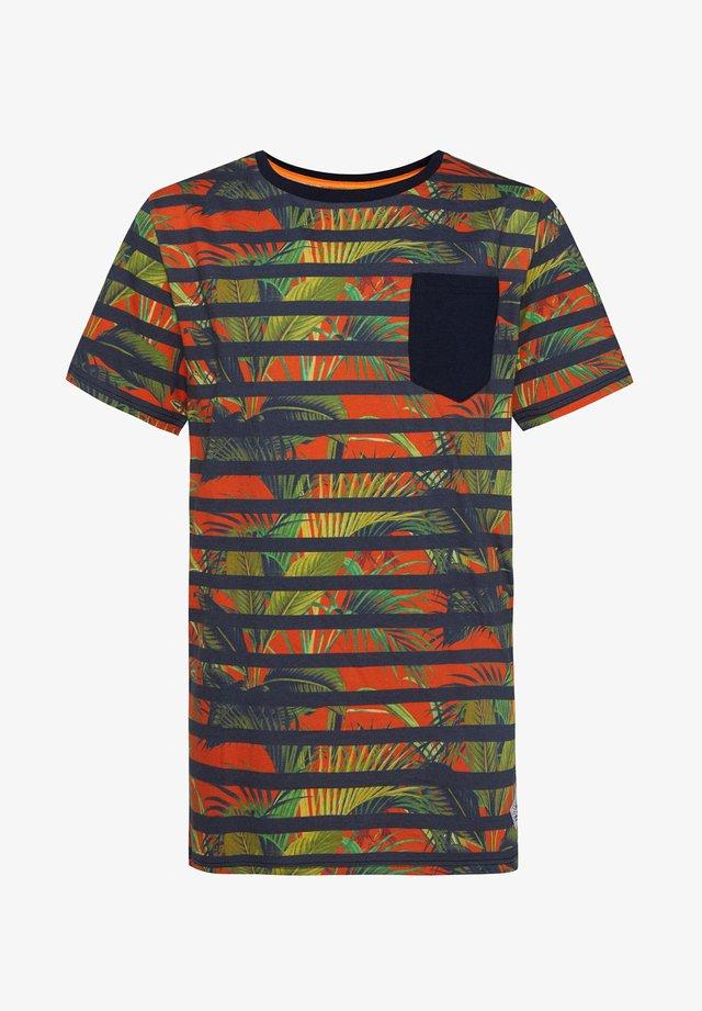 Camiseta estampada - multi-coloured