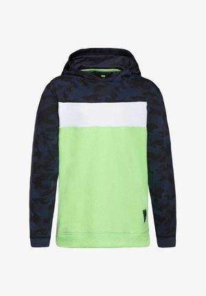 Sweat à capuche - green