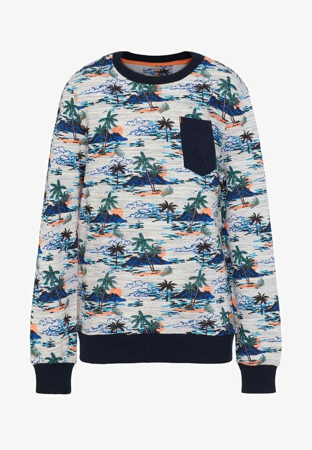 MET PALMBOOMDESSIN - Sweater - grey