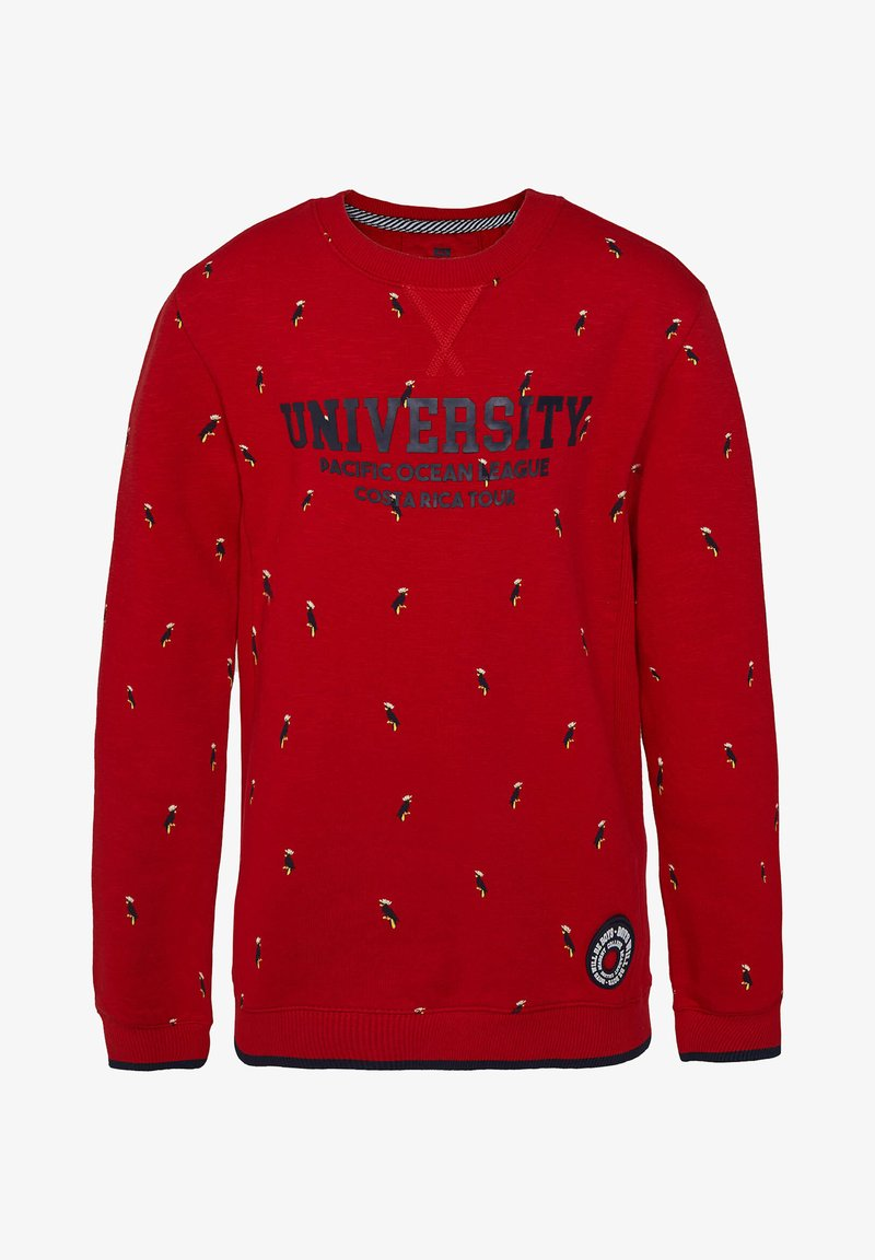 WE Fashion - MIT MUSTER - Sudadera - light red