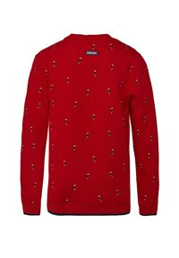 WE Fashion - MIT MUSTER - Sudadera - light red - 1