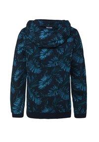 WE Fashion - MIT BLÄTTERMUSTER - Hoodie - royal blue - 1