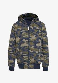 WE Fashion - REVERSIBLE JAS MET CAPUCHON - Bomber Jacket - multi coloured - 0