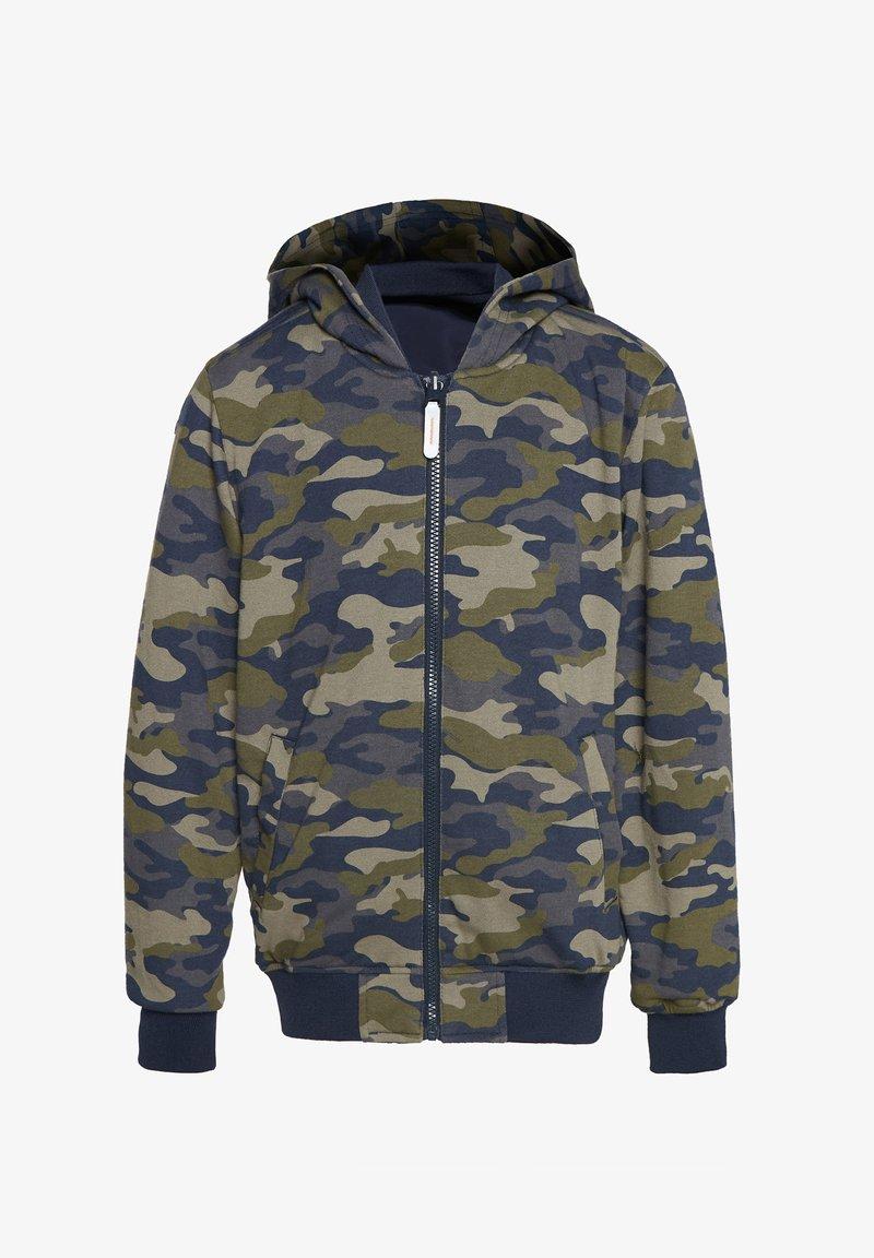 WE Fashion - REVERSIBLE JAS MET CAPUCHON - Bomber Jacket - multi coloured
