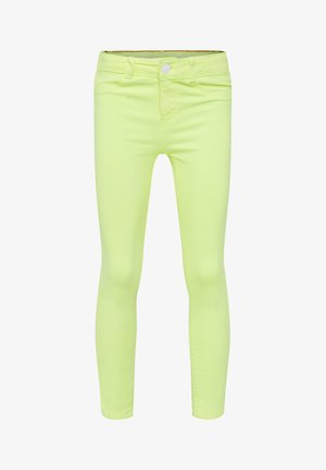 Jeggings - bright yellow