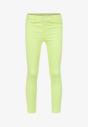 Jegging - bright yellow