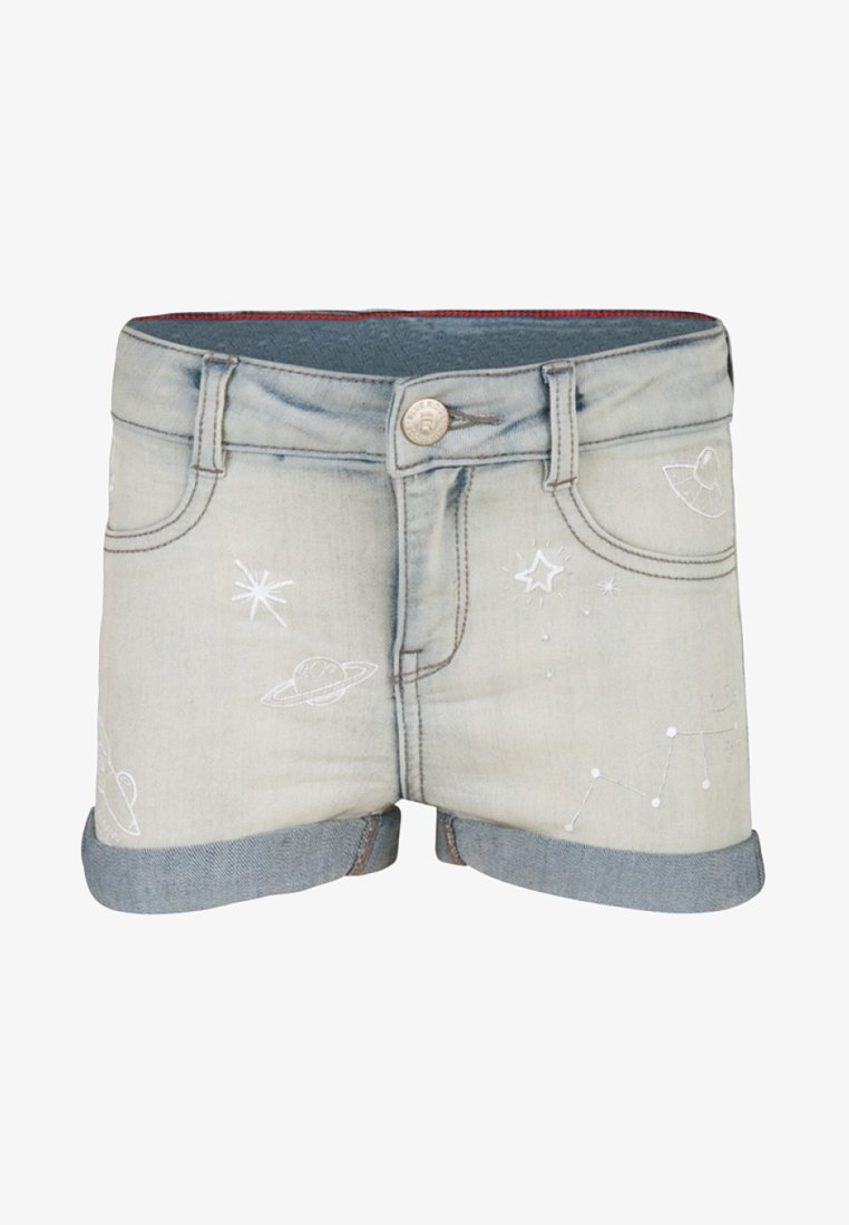 WE Fashion - Denim shorts - light blue