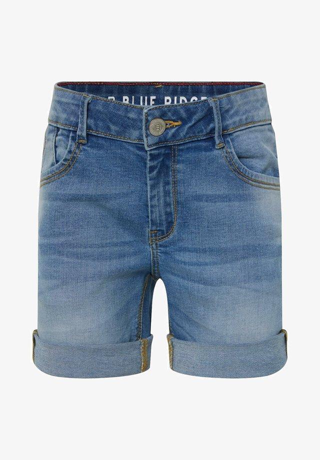 MEISJES  - Jeans Shorts - blue