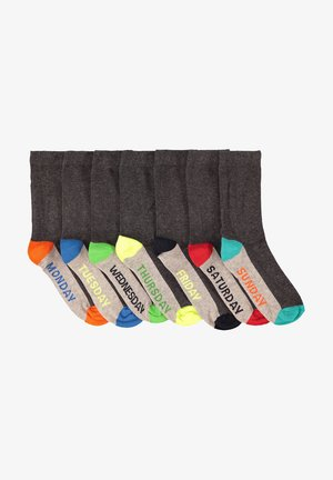 7ER-PACK - Socks - blended dark grey