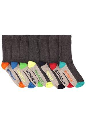 WE FASHION JUNGENSOCKEN, 7ER-PACK - Socks - blended dark grey
