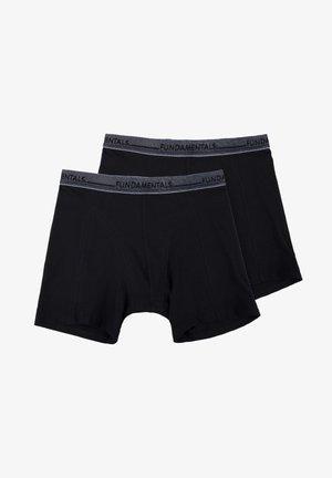 2-PACK - Boxershort - black