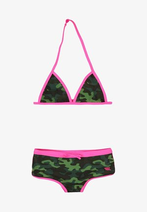 MIT CAMOUFLAGE-MUSTER - Bikini - multi coloured