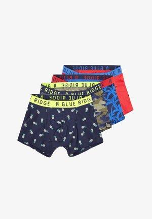 WE FASHION JONGENS 4-PACK BOXERSHORTS - Panties - blue