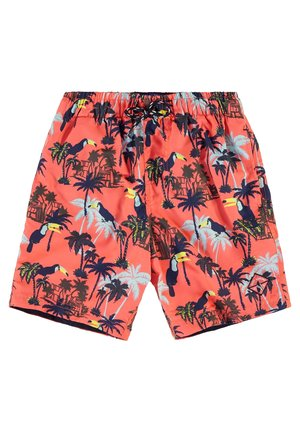 WE FASHION JONGENS ZWEMSHORT VAN GERECYCLED MATERIAAL - Uimashortsit - orange