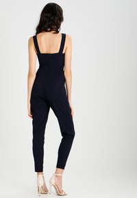 WAL G. - SLEEVELESS PLUNGE  - Overal - navy - 2