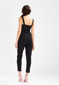 WAL G. - SLEEVELESS PLUNGE  - Jumpsuit - black