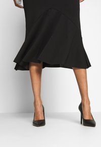 WAL G. - BIAS CUT DETAIL SKIRT - Jupe crayon - black - 3