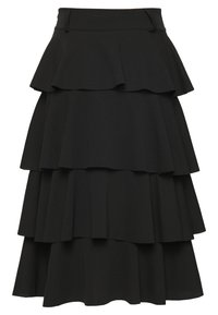 WAL G. - FRILL LAYERED SKIRT - A-line skjørt - black - 1