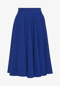 WAL G. - MIDI FULL CIRCLE SKATER SKIRT - A-line skirt - cobalt blue - 0