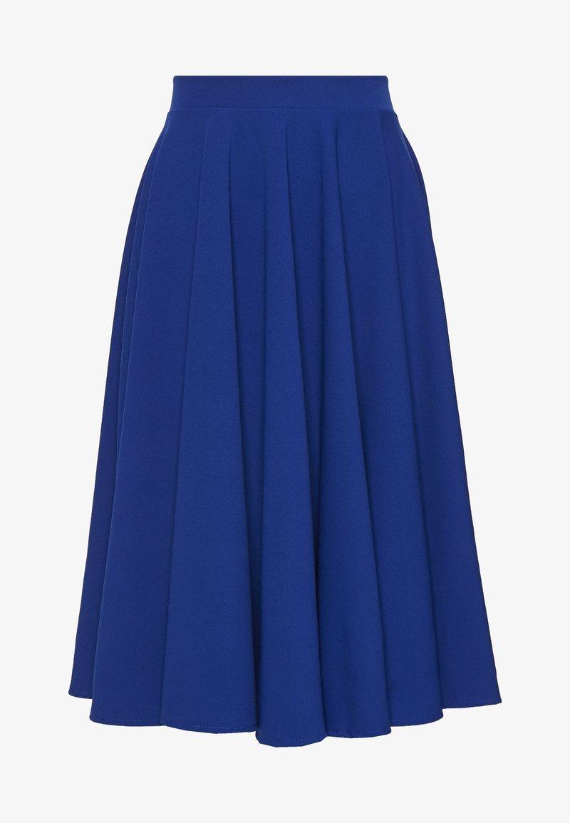 WAL G. - MIDI FULL CIRCLE SKATER SKIRT - A-line skirt - cobalt blue