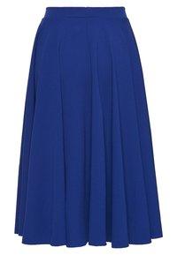 WAL G. - MIDI FULL CIRCLE SKATER SKIRT - A-line skirt - cobalt blue - 1