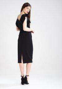 WAL G. - FLUTTER SLEEVE FITTED DRESS  - Shift dress - black - 3