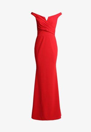 Robe longue - red