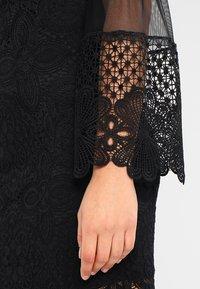 WAL G. - DETAIL MINI DRESS - Cocktailkleid/festliches Kleid - black - 5