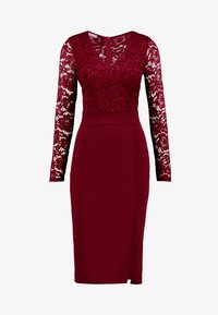 WAL G. - SLEEVE DRESS - Cocktail dress / Party dress - wine - 4