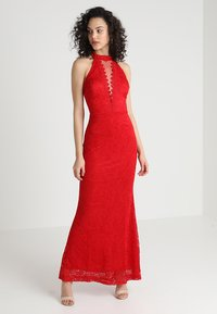 WAL G. - HIGH NECK MAXI - Iltapuku - red - 1