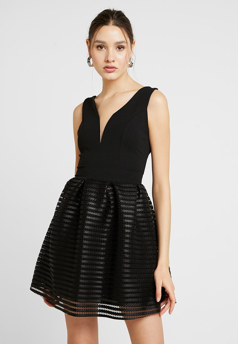 WAL G. - NECKFULL SKATER - Cocktail dress / Party dress - black