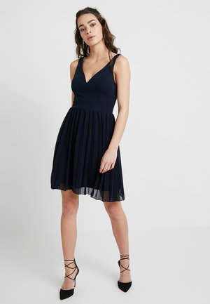 PLUNGE SKATER - Cocktail dress / Party dress - navy