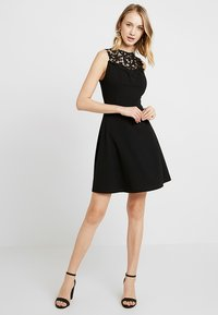 WAL G. - BUST SKATER DRESS - Vestido informal - black - 1
