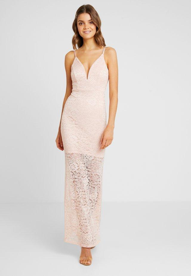 Suknia balowa - blush