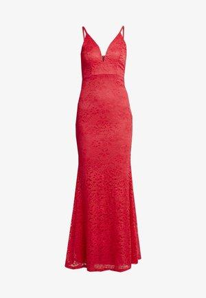 Společenské šaty - raspberry